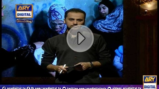 ARY Digital & Waseem Badami Showing Solidarity With Palestine Victims – Shan-e-Razman Tranmission 23rd July 2014