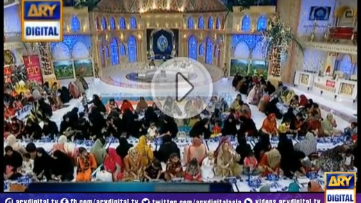 Shan-e-Ramzan Sehr Transmission – Part 2 – 9th July 2014