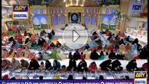 Shan-e-Ramzan Sehri Transmission Part 2 13th July 2014