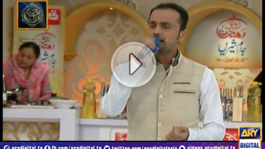 Shan-e-Ramzan Iftar Transmission – Part 1 – 25th July 2014