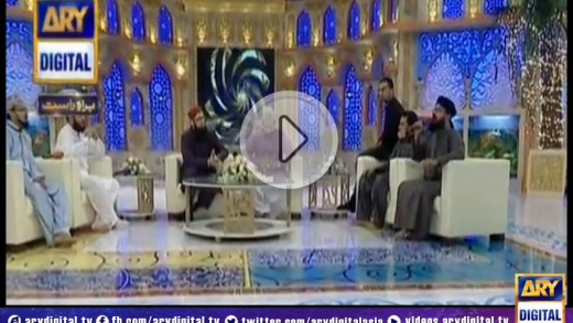 Shan-e-Ramzan Sehr Transmission – Part 1 – 25th July 2014
