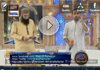 Shan e Ramzan (Sehri Transmission) Part-1 – 11 July 2014