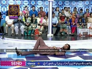 Fahad Mustafa laid the men down in Jeeto Pakistan – ARY Digital