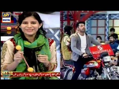 Surmawala Bike winner in Jeeto Pakistan – 21st April 2017