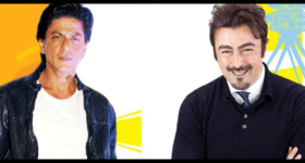 Shah Rukh Khan and Shaan
