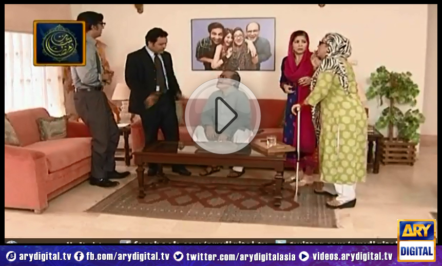 Bulbulay is about a quick witted, slapstick comedy that revolves around a family of four. Each episode is filled with humorous quirks that drives the viewer in a frenzy of laughter. Momo, Nabeel, Khoobsurat and Mehmood Sahib, find themselves in a new situation every time and deal with the consequences in their own unique manner. Written by: Ali Imran Directed by: Rana Rizwan Cast: Nabeel Ayesha Omar Hina Dilpazar Mehmood Aslam Timing: Every Sunday at 9:30 PM on ARY Digital. If you miss any of the episodes you can watch them here.