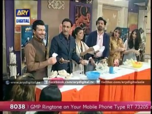 Cast of 'Jalaibee' in Good Morning Pakistan