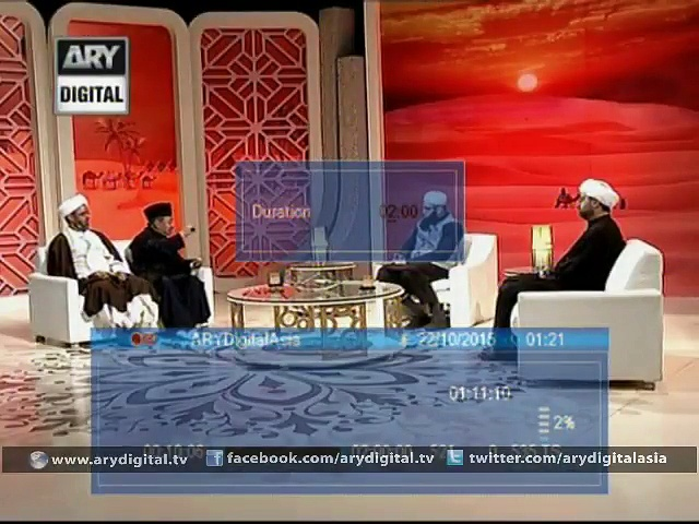 Dars e karbala 24th October 2015 - Watch Latest Episodes of