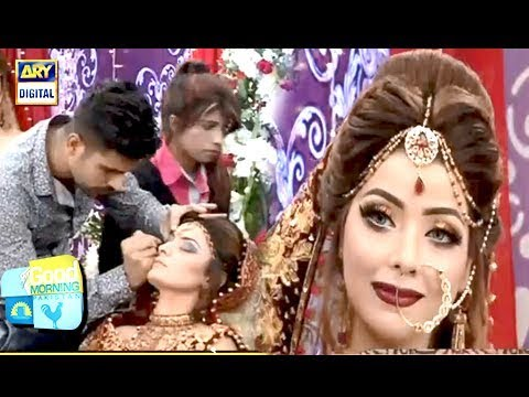 Tutorial Pakistani Bridal Hair Style Makeup And More