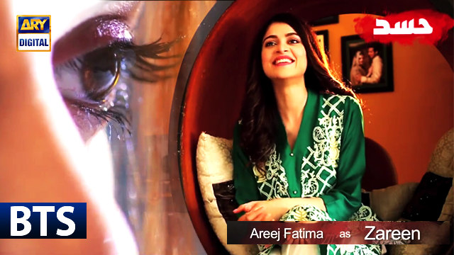 The Pretty Arij Fatima Talks About Her Character Zareen in Hassad - ARY Digital