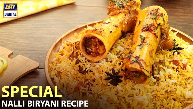 Nalli Biryani Recipe