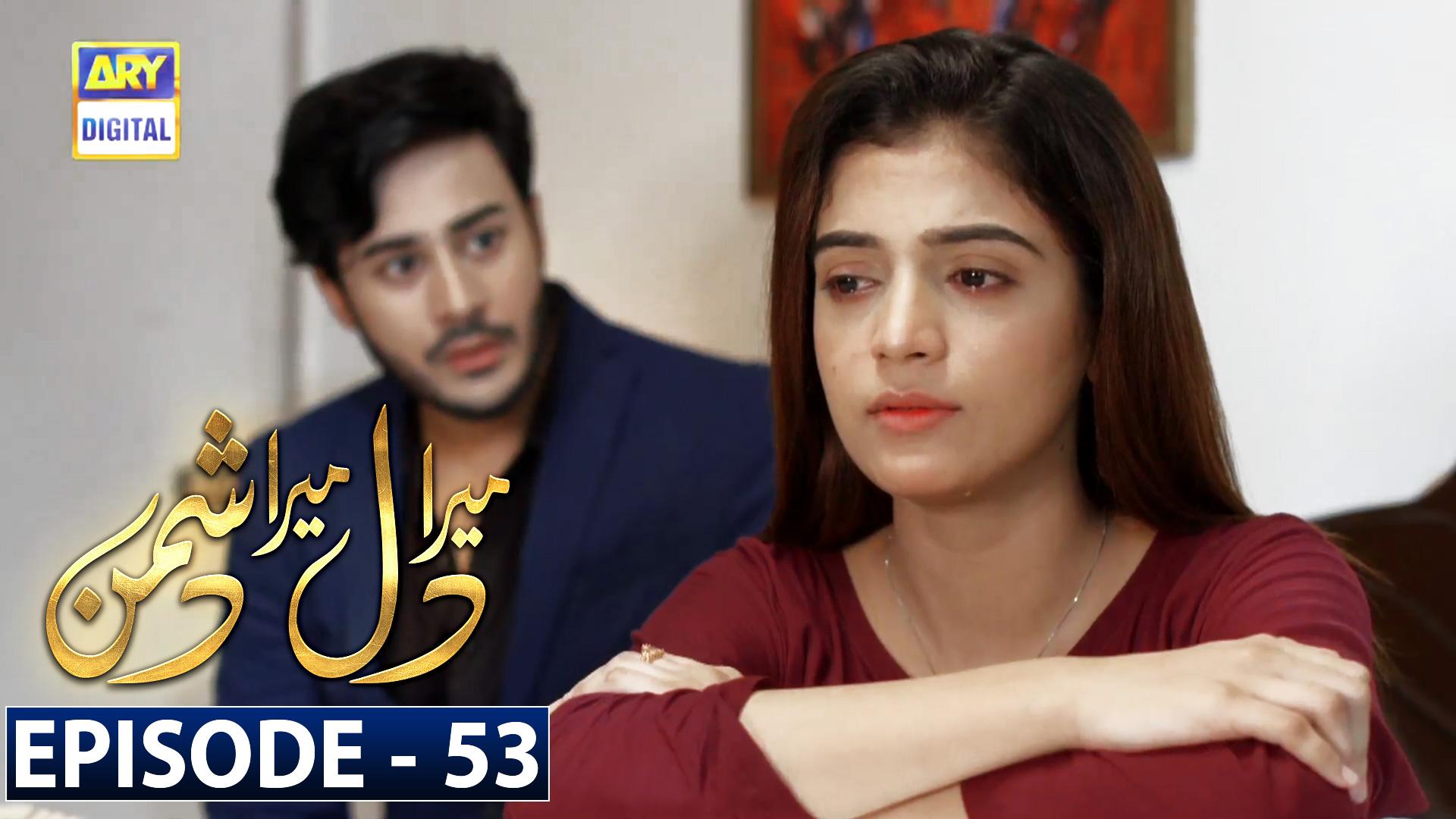 Mera Dil Mera Dushman Episode 53