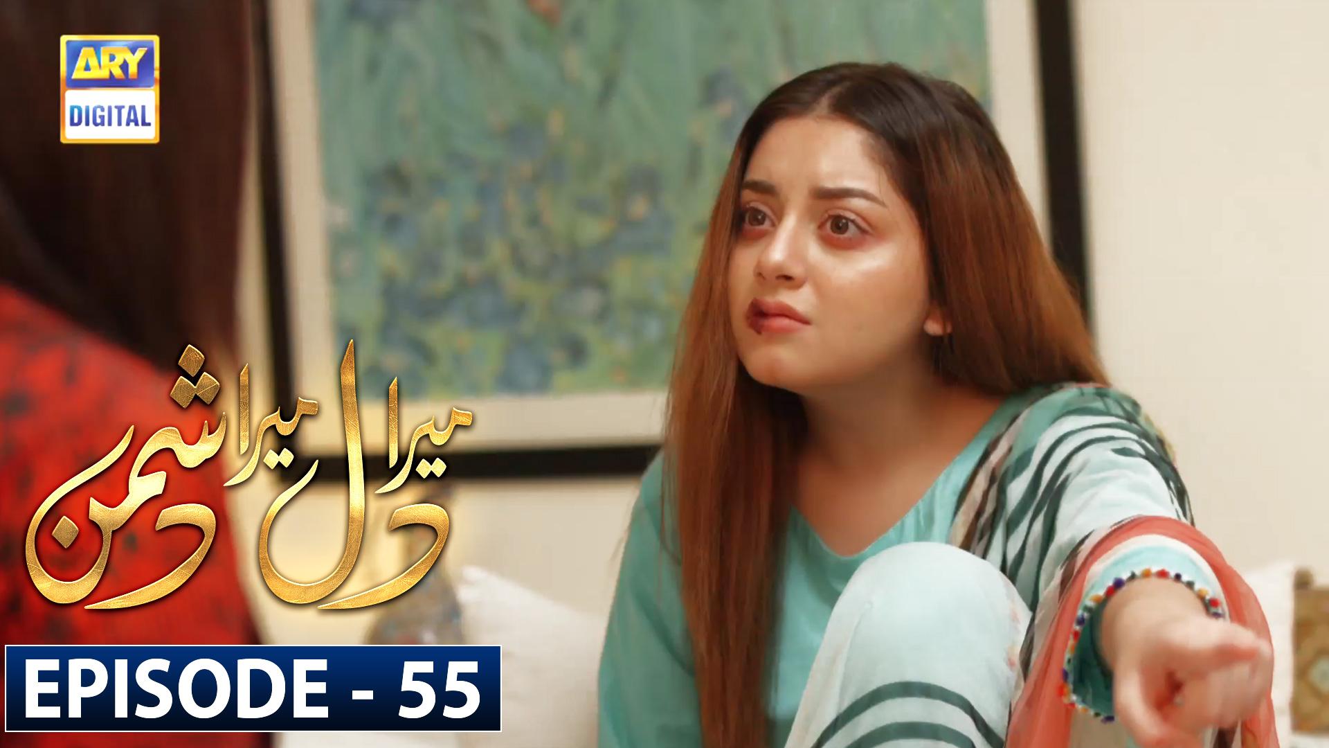 Mera Dil Mera Dushman Episode 55