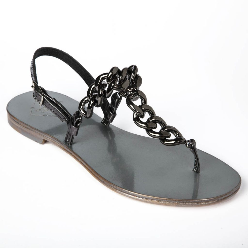 gunmetal_chain-embellished_leather_sandals_finaest_2_